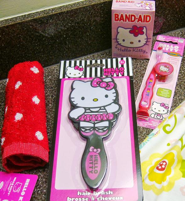 Hello Kitty Themed Operation Christmas Child Shoe Box Gift hygiene supplies