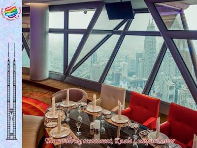 The revolving restaurant, Kuala Lumpur Tower