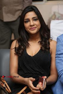 Telugu Actress Kamna Singh Stills in Black Dress at Bharat Thakur Art Exhibition Launch  0102.jpg