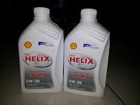 Oli terbaru Shell Helix Astra 5w30, Fully Synthetic