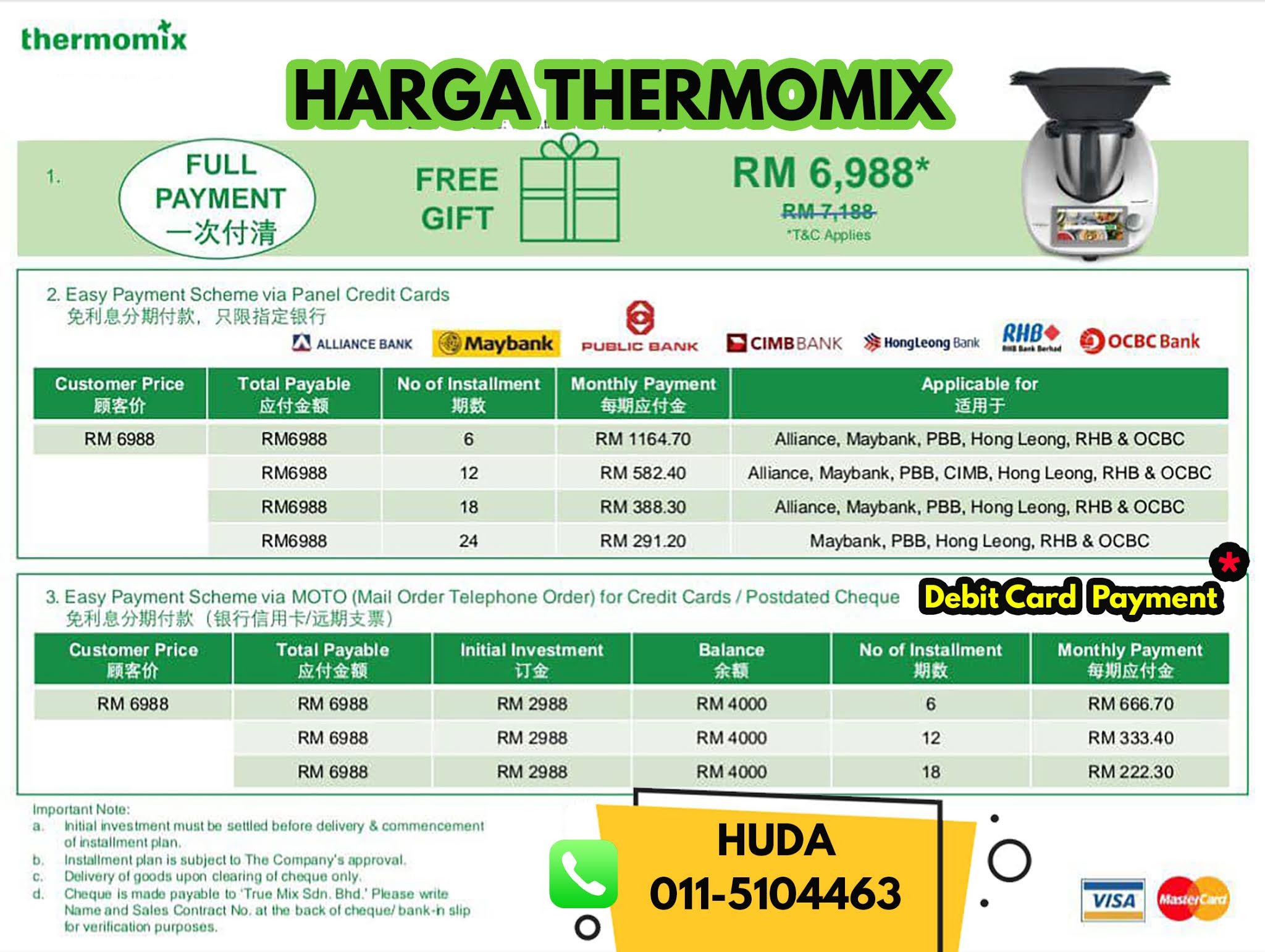 Cara Mudah Untuk Memiliki Thermomix TM20   Cerita Huda by Huda Halid
