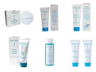 produk wardah untuk kulit berjerawat