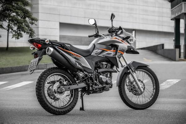 Honda XRE - 7ª moto mais vendida do Brasil