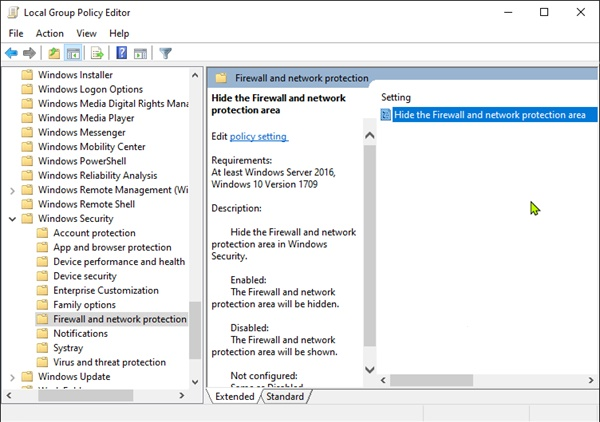 Firewall and Network Protection in Windows 10