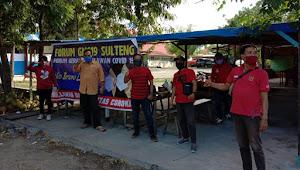 Cegah Penyebaran Corona, Forum GMC 19 Bebagi 1000 Masker