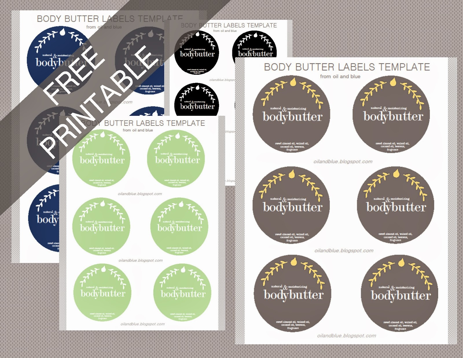 http://oilandblue.blogspot.com/2013/11/diy-perfumed-body-butter-labels-free.html