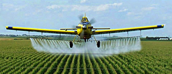 Field spray