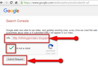 Cara Daftar Blog di Google