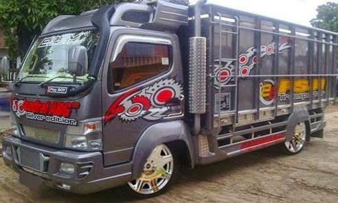 Truk Hino Lohan Modifikasi Kumpulan Modifikasi Motor Mobil 2019