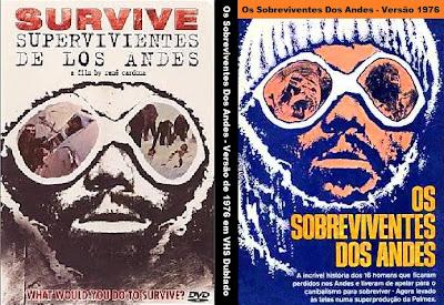 Os Sobreviventes dos Andes DVD Capa