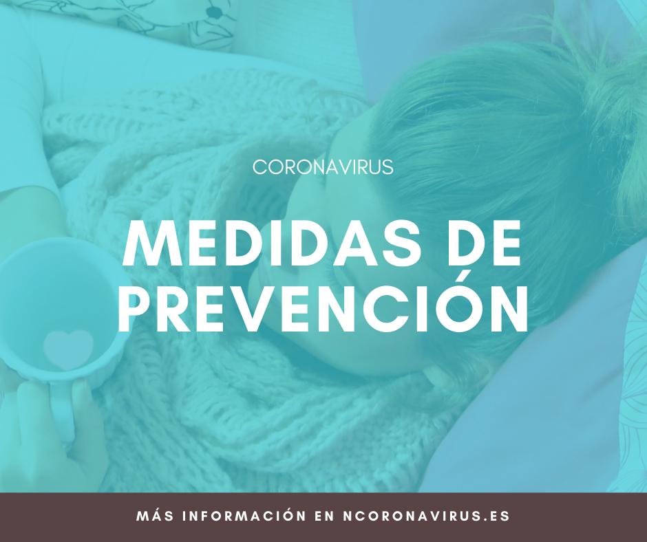 Medidas para evitar el contagio de NCoronavirus
