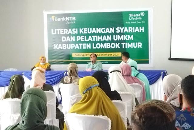 Bank NTB Syariah Cabang Selong beri pelatihan untuk pelaku UMKM