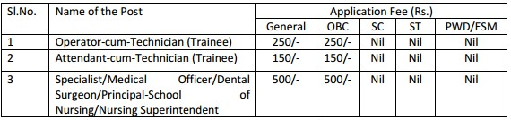 SAIL Recruitment 2016 - 226 ACT (Trainee), OCT(Trainee), Medical Officer Posts