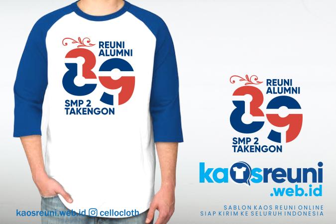 Kaos Reuni Alumni Angkatan 89 SMP 2 Takengon - Kaos Reuni Online