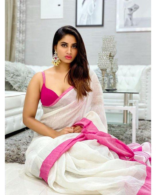Shivani Narayanan Half Saree Still