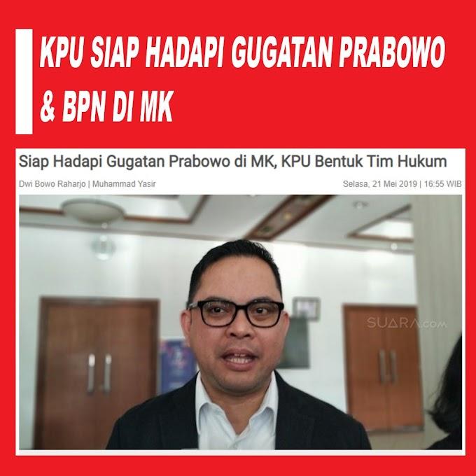 Hadapi Gugatan Kubu Prabowo, KPU Tunjuk AnP Law Firm