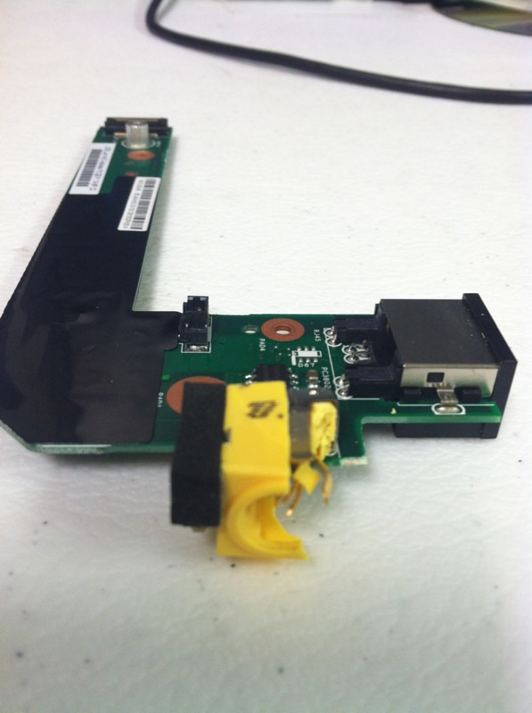 Laptop AC DC Power Jack Repair- $65 Parts And Labor