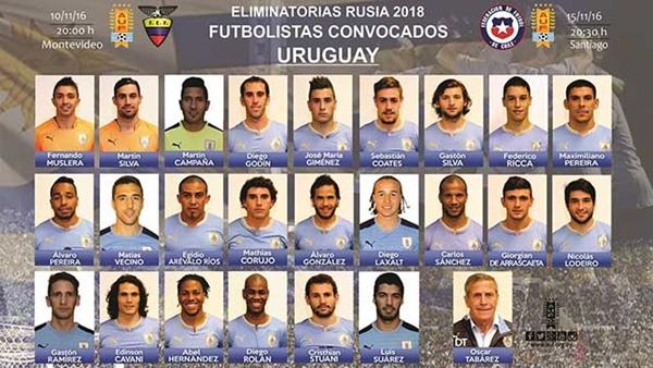 seleccion uruguaya de fútbol