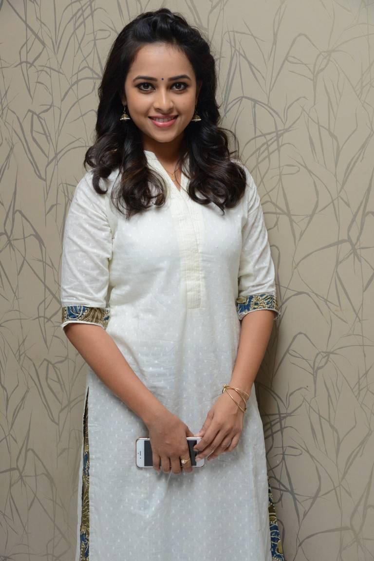 Sri Divya In Punjabi Dress At Tamil Film Success Meet