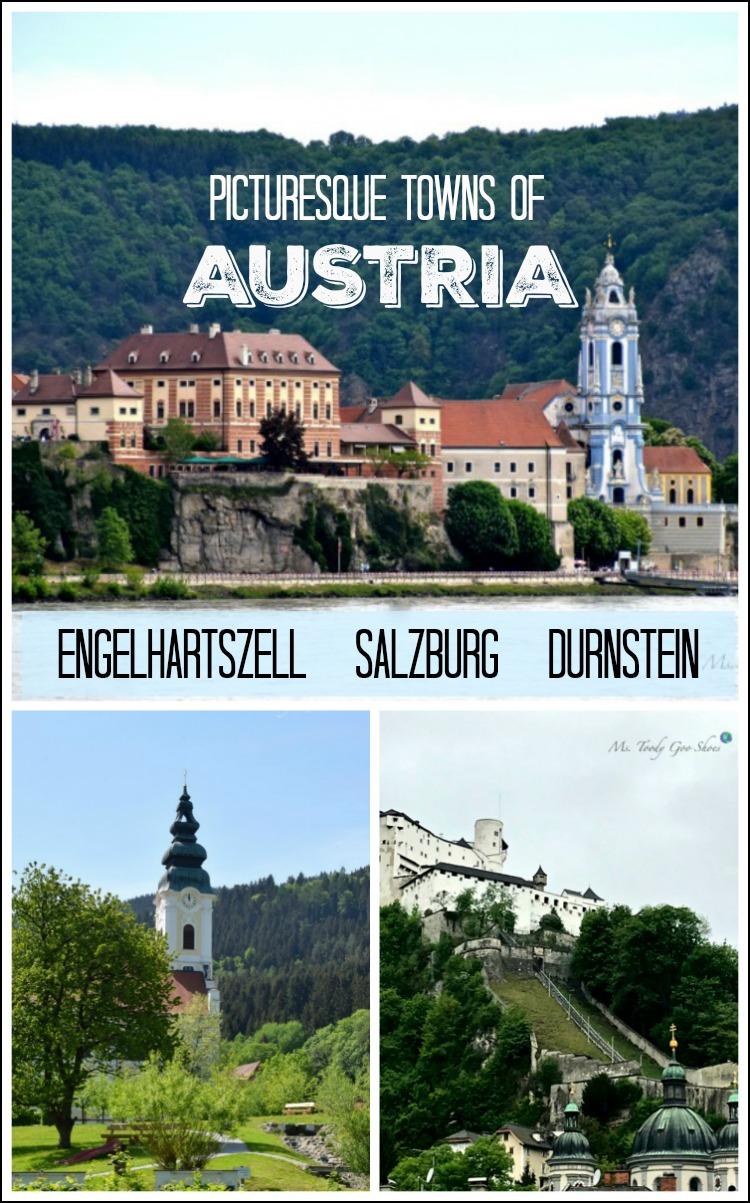 Pictureesque towns of Austria | Ms. Toody Goo Shoes #austria #danuberivercruise #engelhartszell  #salzburg #durnstein