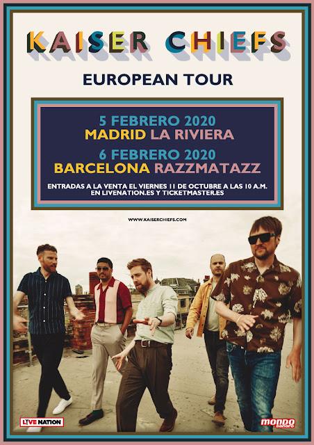 Agenda de giras, conciertos y festivales - Página 13 Kaiserchiefscartel