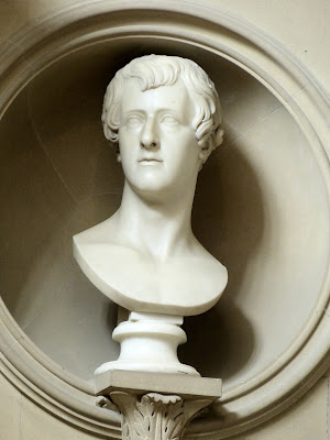 Bust of William Cavendish, 6th Duke of Devonshire   in Sculpture Gallery, Chatsworth  © A Knowles (2014)