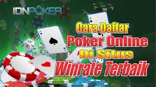Cara Mudah Daftar Poker Online Terbaru