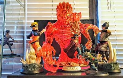 Anime Figures: Naruto, Itachi & Sasuke by Jayem Sison