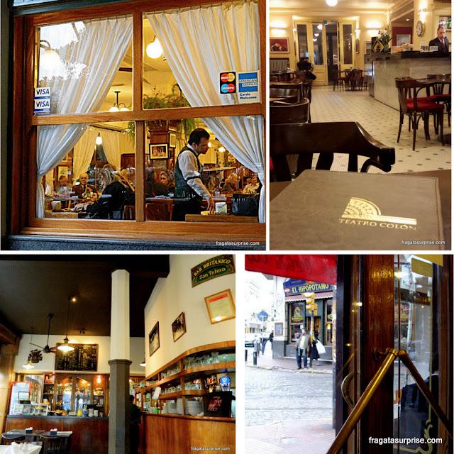 Cafés bares e confeitarias históricas de Buenos Aires