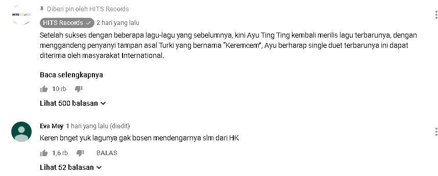 cara menjadi top komentar di youtube