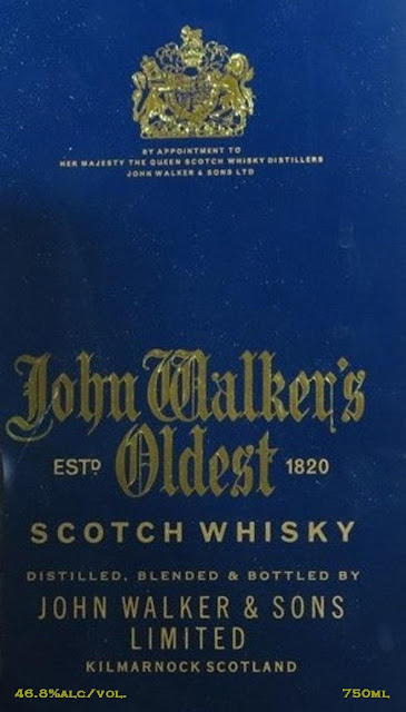 Johnnie Walker Oldest Scotch Whiskey