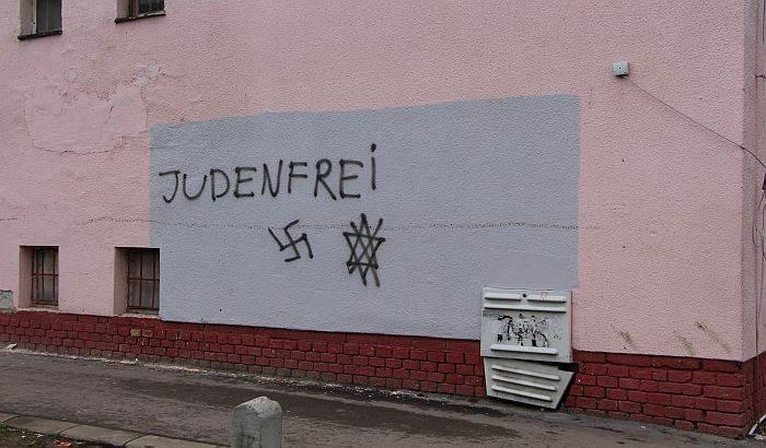 Antisemitic Graffiti In Novi Sad Monitoring Antisemitism Worldwide