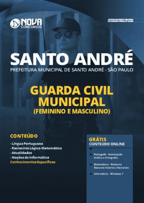 Apostila Concurso Prefeitura de Santo André 2020 Guarda Civil Municipal Grátis Cursos Online