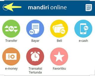 Status transaksi mandiri online