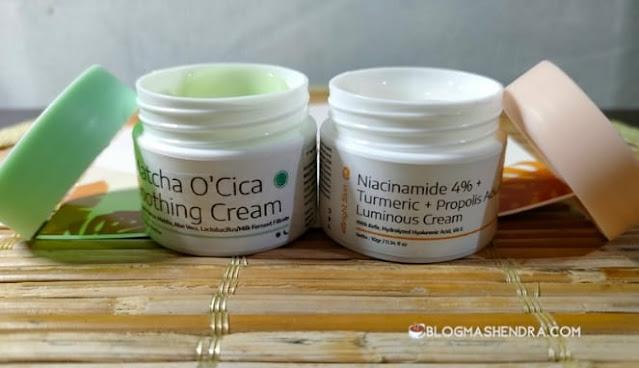Review eBright Skin Twin Face Cream