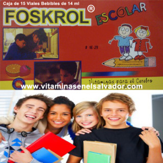 FOSKROL ESCOLAR Duo Pack