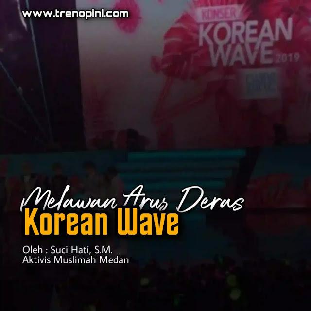 Ada apa sih dengan Korean Wave? Nah Korean Wave atau yang biasa disebut budaya Korea seperti K-Pop dan K-Drama yang kini tren yang telah digandrungi generasi millenials yang secara nyata mampu membius. Misal dari segi musik, fashion, bahasa, pergaulan, film dan semua yang berkaitan dengan korea juga menjadi idola bahkan tak hanya generasi millenials saja namun anak-anak dan orang tua juga ikut-ikut menghalu akibat drama percintaan yang tujuanya sih demi hiburan semata.