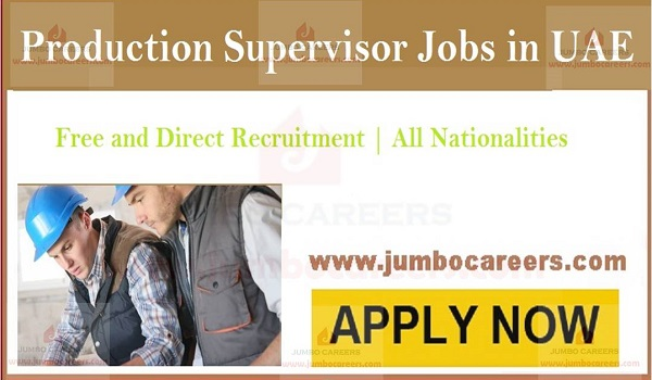 Male jobs in Gulf countries, Current Sharjah jobs for production executives,