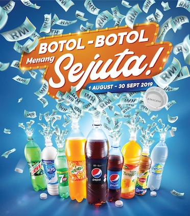 WIN UP TO RM3 MILLION CASH REWARDS WITH ETIKA'S BOTOL-BOTOL MENANG SEJUTA CONTEST