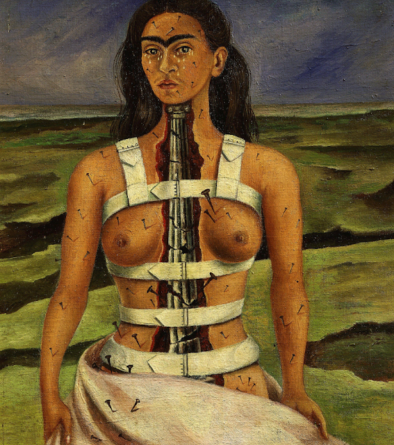 Frida Kahlo, The Broken Column (1944)