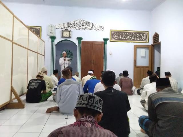 Musholla Al-Waqfiyah Desa Soditan Lasem Gelar Sholat Gerhana Bulan