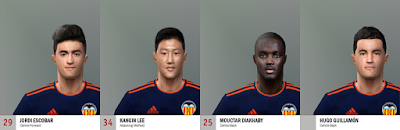 PES 6 Facepack Valencia C.F. by Adam & The Kid Facemaker
