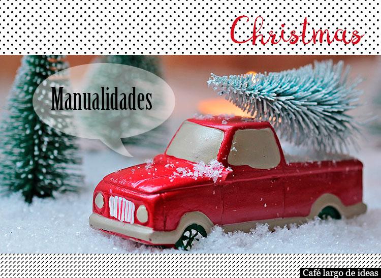 5 Manualidades de Navidad para los peques