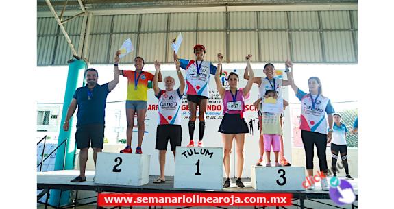 """Realizan la carrera atlética """"Generando Consciencia"""" en Tulum"""