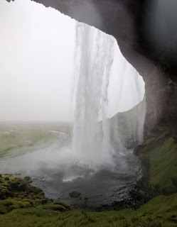 Cascada Seljalandsfoss, Islandia, Iceland.