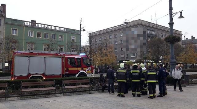 Riadalom Debrecen szívében, több helyen villogtak a szirénák