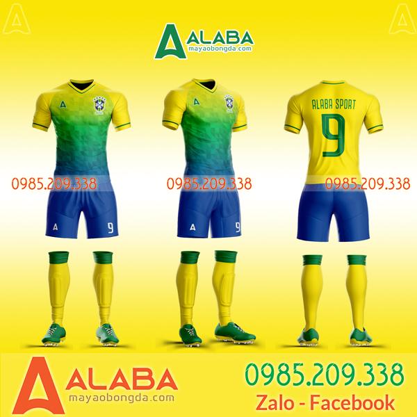 Áo đội tuyển Brazil tự thiết kế  đặc sắc