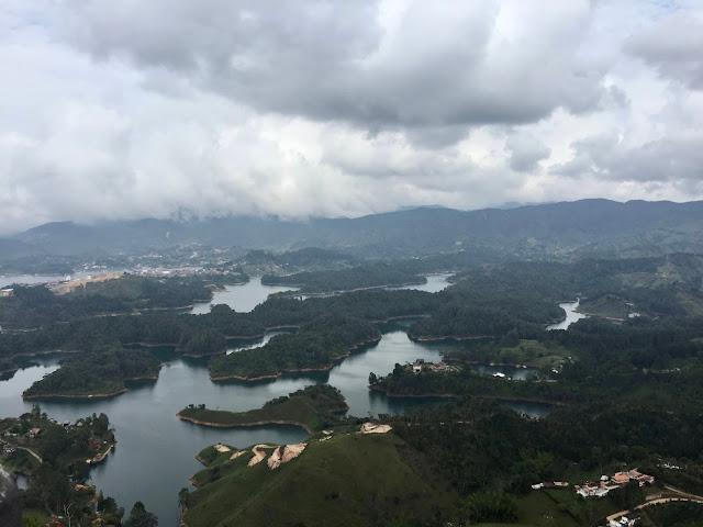 View From El Peñol Stone