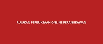 Rujukan Peperiksaan Online Perangkawan 2020