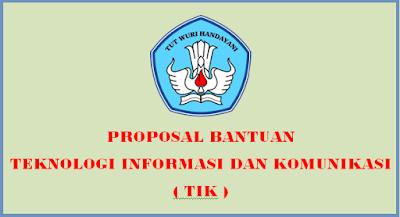 Contoh Proposal Pengajuan TIK SD